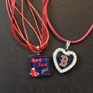 Boston Red Sox necklace bundle